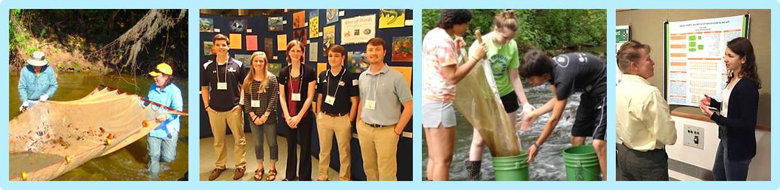 Student Water Science Poster Competition photo collage