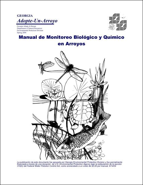 Title page of the Spanish biological and chemical manual