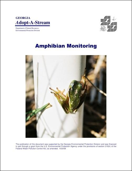 Title page of the amphibian manual