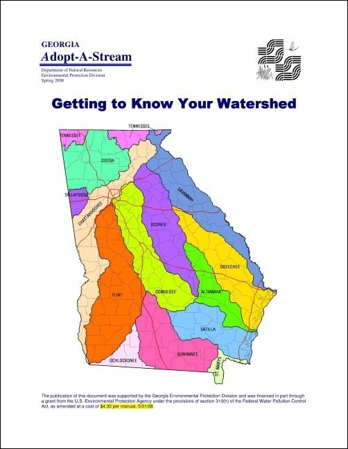 Title page of the watershed manual