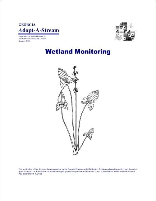 Title slide of the wetland manual